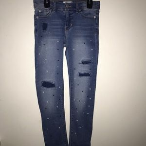 Jordache Jeans with Pearls